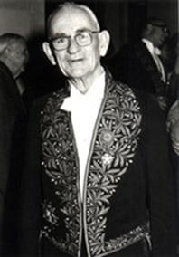 Dr. James W. Cronin, premio Nobel de Física año 1980 y Dr. Alan Watson  Fundadores Observatorio Pierre Auger